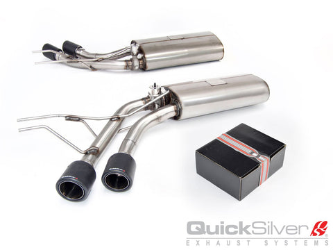 Quicksilver Exhausts - Mercedes G 500 and G 550 4x4 Squared W463 Active Valve Sport System - Years 2012-18 - MZ550S