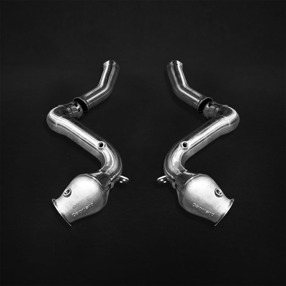Capristo Mercedes AMG C63 (W205) Cat Delete Downpipes