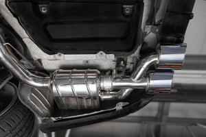 Capristo Mercedes AMG C63 (W204)– Valved Exhaust with Middle Silencer Delete Pipes