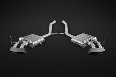 Capristo Mercedes AMG ML63(W164) – Valved Exhaust with Ceramic Tips