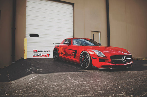 RENNtech A2 Aero Package Carbon Fiber for Mercedes-Benz SLS AMG