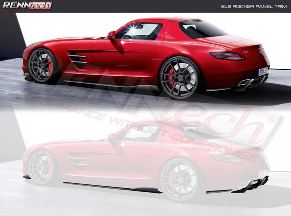 RENNtech A1 Aero Package Carbon Fiber for Mercedes-Benz SLS AMG