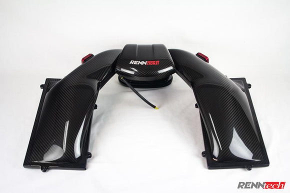 RENNtech Carbon Fiber Airbox for M156 - Mercedes-Benz C63 AMG