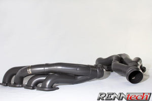 RENNtech Long Tube Headers with Downpipes and 200 Cell Sport Catalytic Converters for Mercedes Benz CLS/E63 AMG