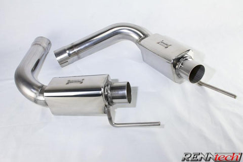 RENNtech Stainless Steel Sport Mufflers for Mercedes-Benz SL65 AMG Black Series R230