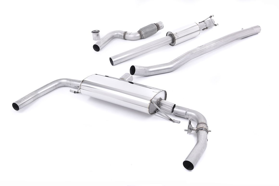 Milltek Sport Mercedes CLA-Class C117 (2013-2019) CLA45 AMG 2.0 Turbo Resonated Cat Back Exhaust System