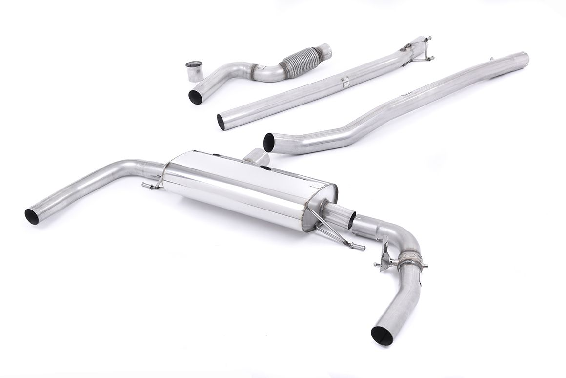 Milltek Sport Mercedes CLA-Class C117 (2013-2019) CLA45 AMG 2.0 Turbo Non Resonated Cat Back Exhaust System