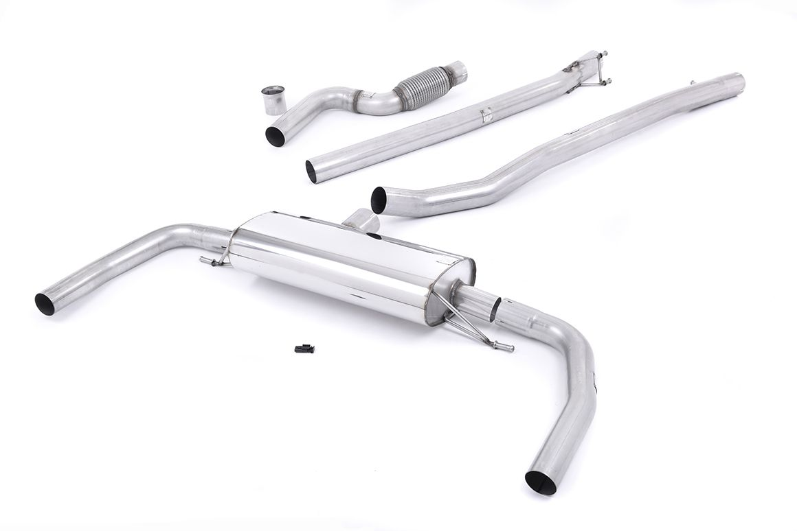 Milltek Sport Mercedes CLA-Class C117 (2013-2019) CLA45 AMG 2.0 Turbo Non Valved & Non Resonated Cat Back Exhaust System