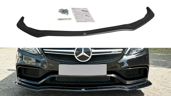 Maxton Design Front Splitter V.1 MERCEDES C-CLASS S205 63 AMG ESTATE (2015-2018)