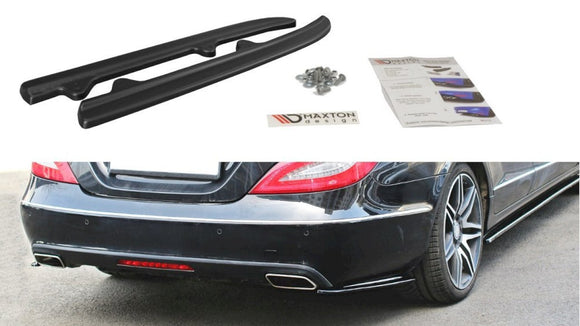 Maxton Design Rear Side Splitters Mercedes CLS C218 STANDARD (2011-2014)