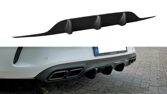 Maxton Design Rear Valance MERCEDES C 205 63 AMG COUPE (2016-2018)