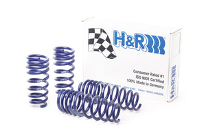 H&R Lowering Springs Mercedes Benz C Class W203