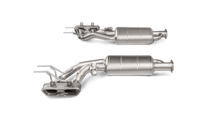 Akrapovic Cat Back Mercedes AMG G 500 (W463) 2017