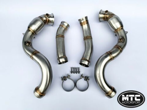 MTC MOTORSPORT MERCEDES C63s AMG W205 Decat Downpipe