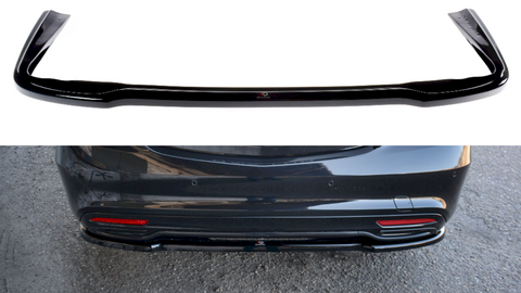 Maxton Design Rear Splitter MERCEDES S-CLASS AMG-LINE W222 (2013-2017)