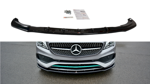 Maxton Design Front Splitter V.1 Mercedes-Benz CLA C117 AMG-LINE FACELIFT (2017-UP)