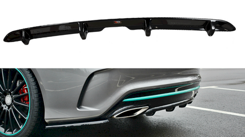 Maxton Design Rear Valance Mercedes-Benz CLA C117 AMG-LINE FACELIFT (2017-UP)