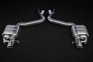 Capristo Cat Back Mercedes AMG GT63/S – Valved Exhaust with Mid-Pipes (CES3)