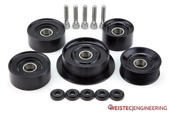 Weistec Engineering Mercedes Benz Billet Idler Pulleys, M156