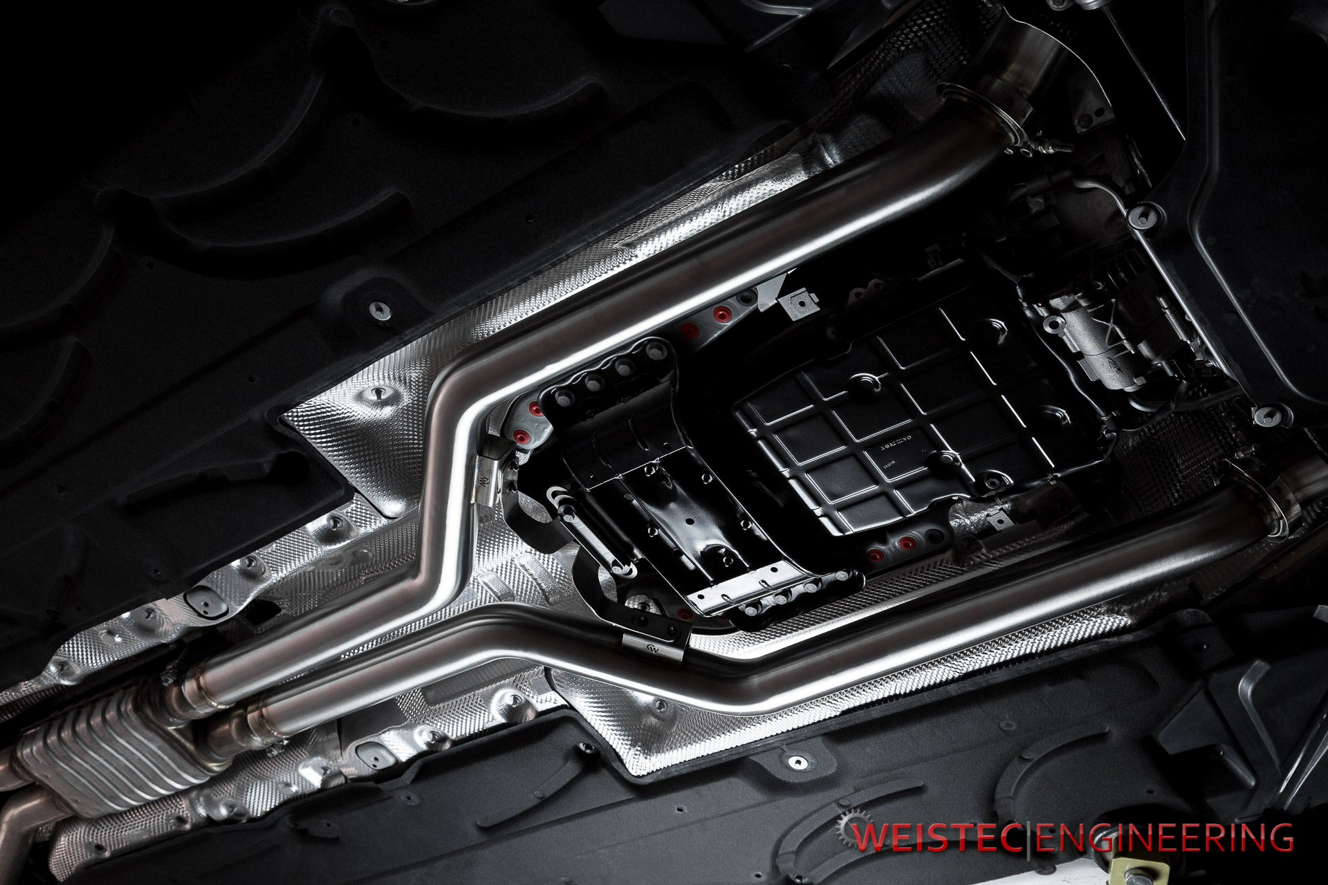 Weistec Engineering Mercedes Benz M157 Modular Midpipes, CLS63 RWD