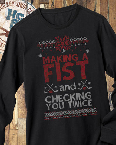 """Making a Fist"" T-Shirt"