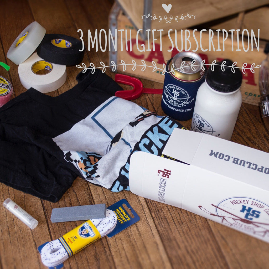 Hockey Shop Club Subscription Box (3 Month Gift)