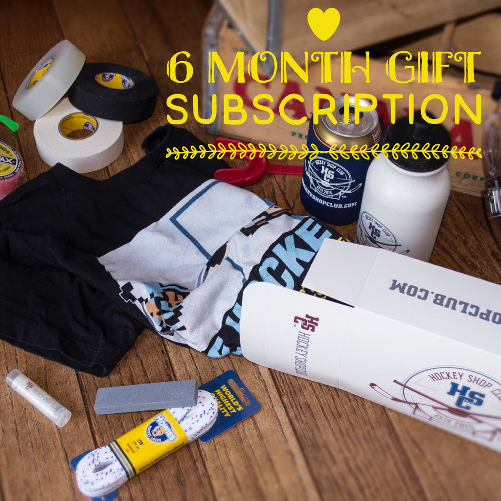Hockey Shop Club Subscription Box (6 Month Gift)