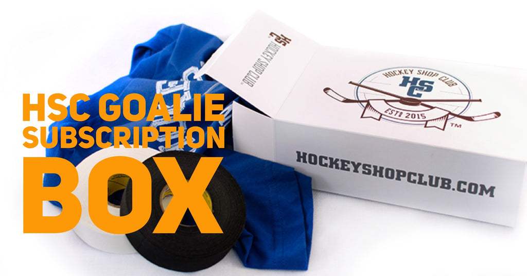 Hockey Shop Club Goalie Subscription Box