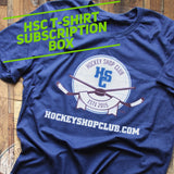 Hockey Shop Club T-Shirt Subscription Box
