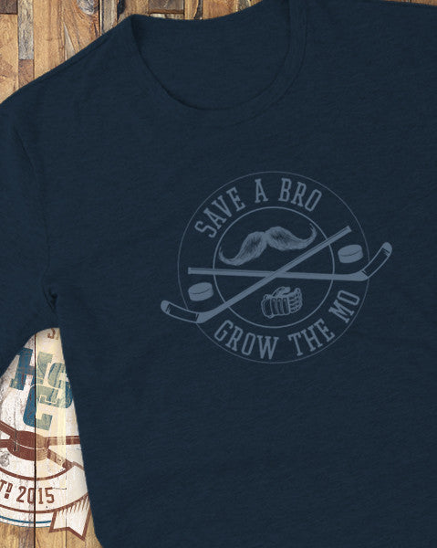 """Grow the Mo 2"" T-Shirt"