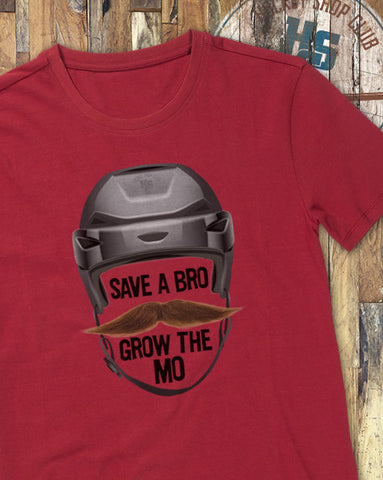 """Grow the Mo"" T-Shirt"