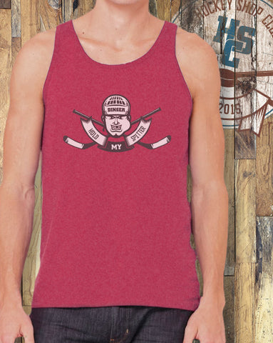 """Hold My Spitter"" Tank Top"