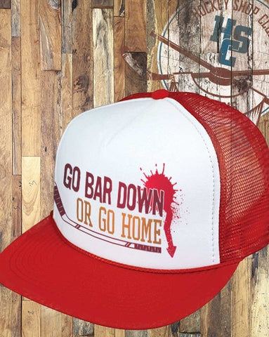 """Bar Down"" Trucker Hat"