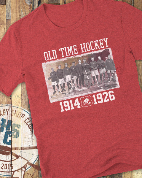 """Old Time Hockey"" T-Shirt"