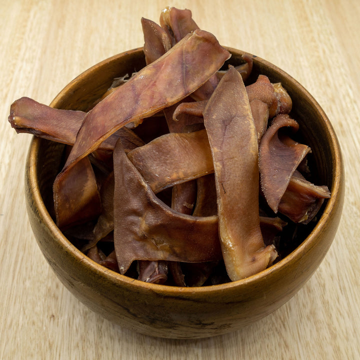 Pig Ear Strips - Give Paws
