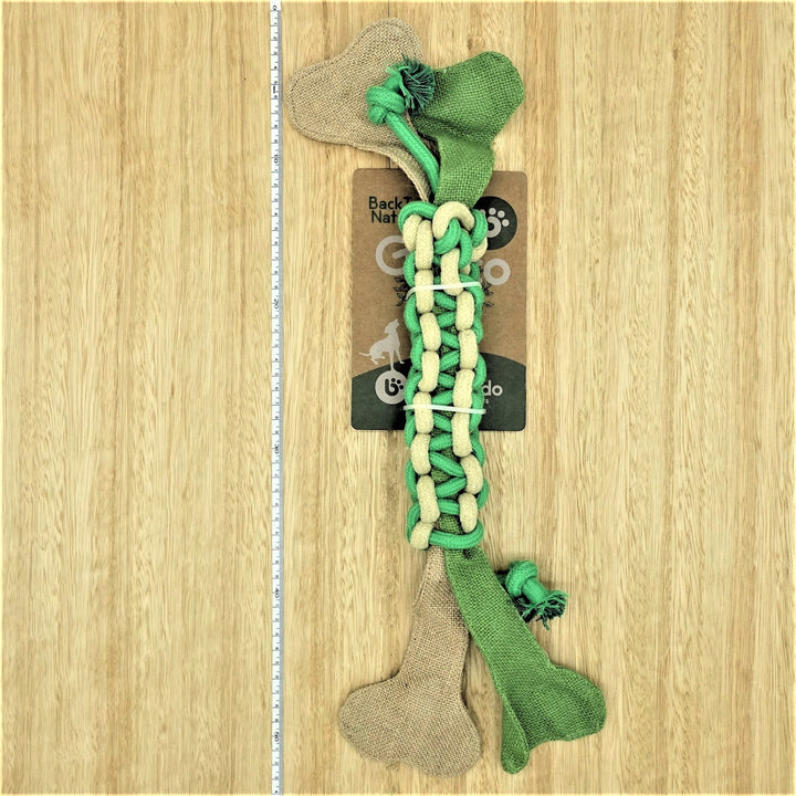 Braided Rope Tug Toy - Give Paws