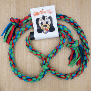 Double Rope Tug with Handle - Give Paws