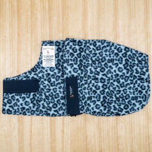 60cm Double Fleece Dog Coat - Give Paws