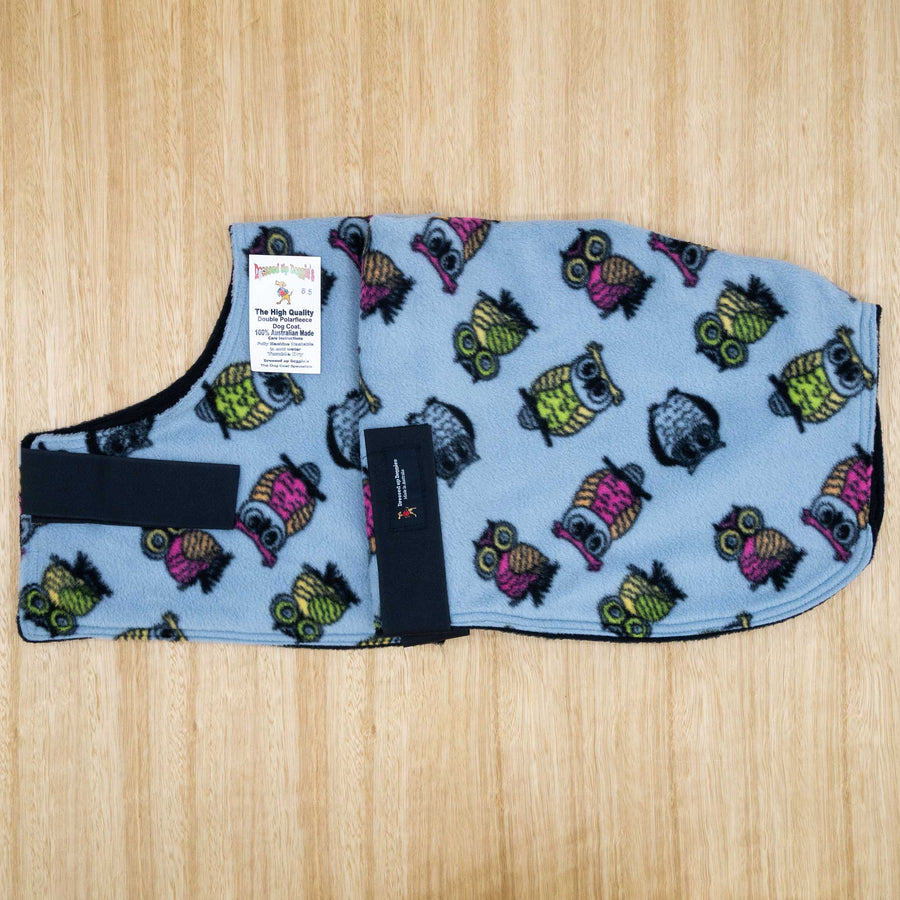 65cm Double Fleece Dog Coat - Give Paws