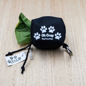 Oh Crap Dog Poop Bag Holder - Give Paws