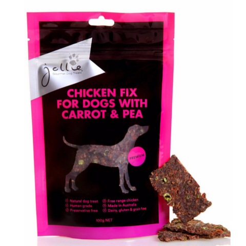 Chicken Fix for Dogs with Carrot & Pea 100g Pouch