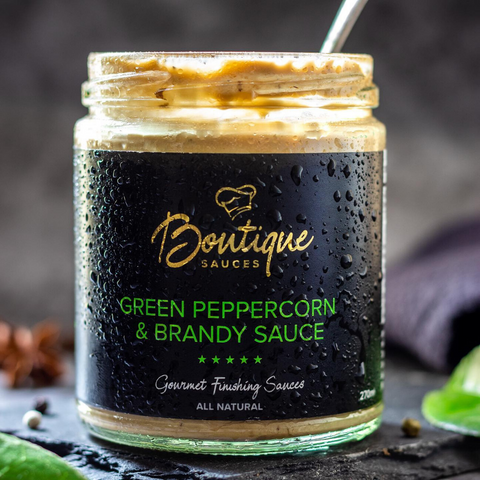 Green Peppercorn & Brandy Sauce