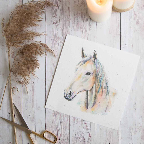 Horse print by Stephanie Elizabeth Artwork