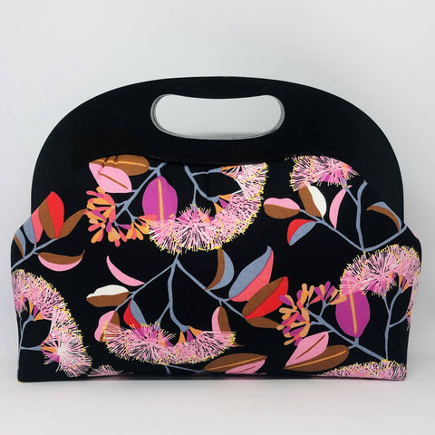 Lilly Pilly wood frame clutch