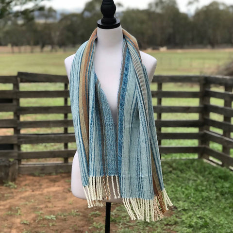 Soft Blue Shawl