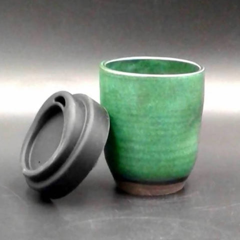 Reusable takeaway espresso cup