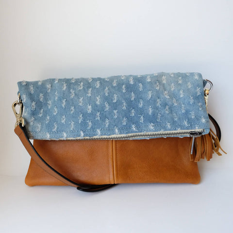 SPECKLES FOLD OVER HIP BAG