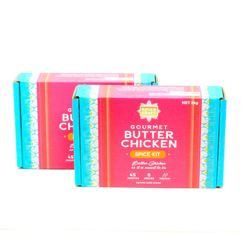 Gourmet Butter Chicken Spice Kit (Twin Pack)