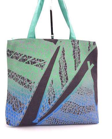 Frida Tote Bag, Walabi (Fish Nets) Design Grey
