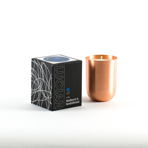 Mulberry & Sandalwood Copper Candle